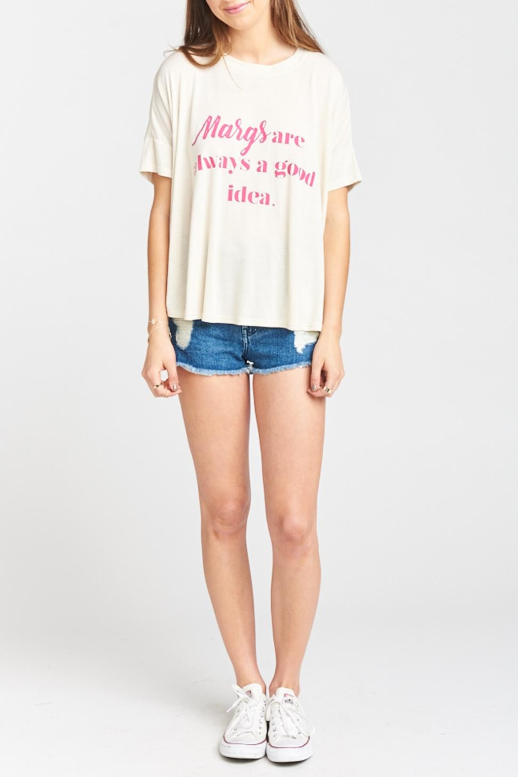 Show Me Your Mumu Emerson Tee - Back Cropped Image