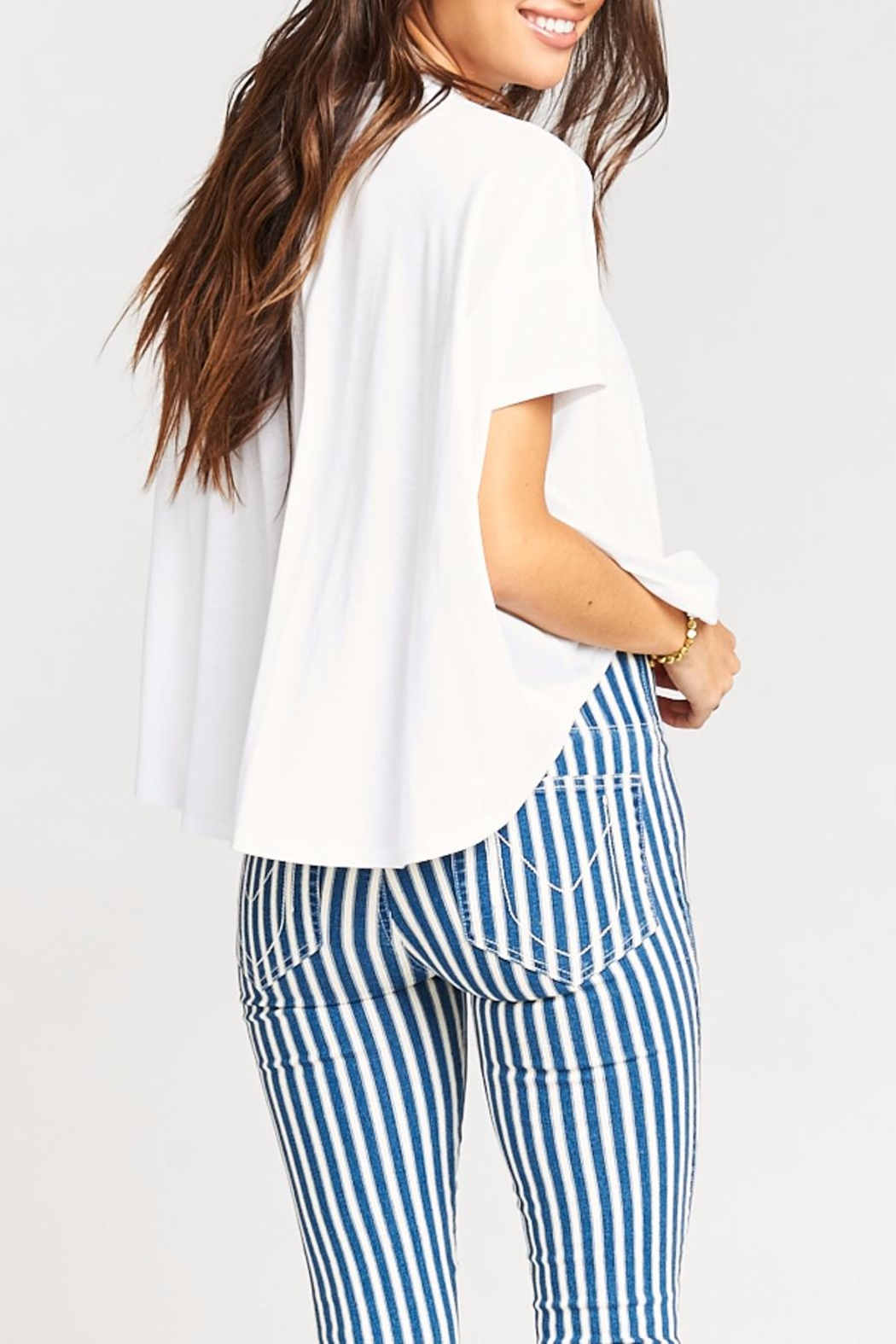 Show Me Your Mumu Emerson Tee - Side Cropped Image