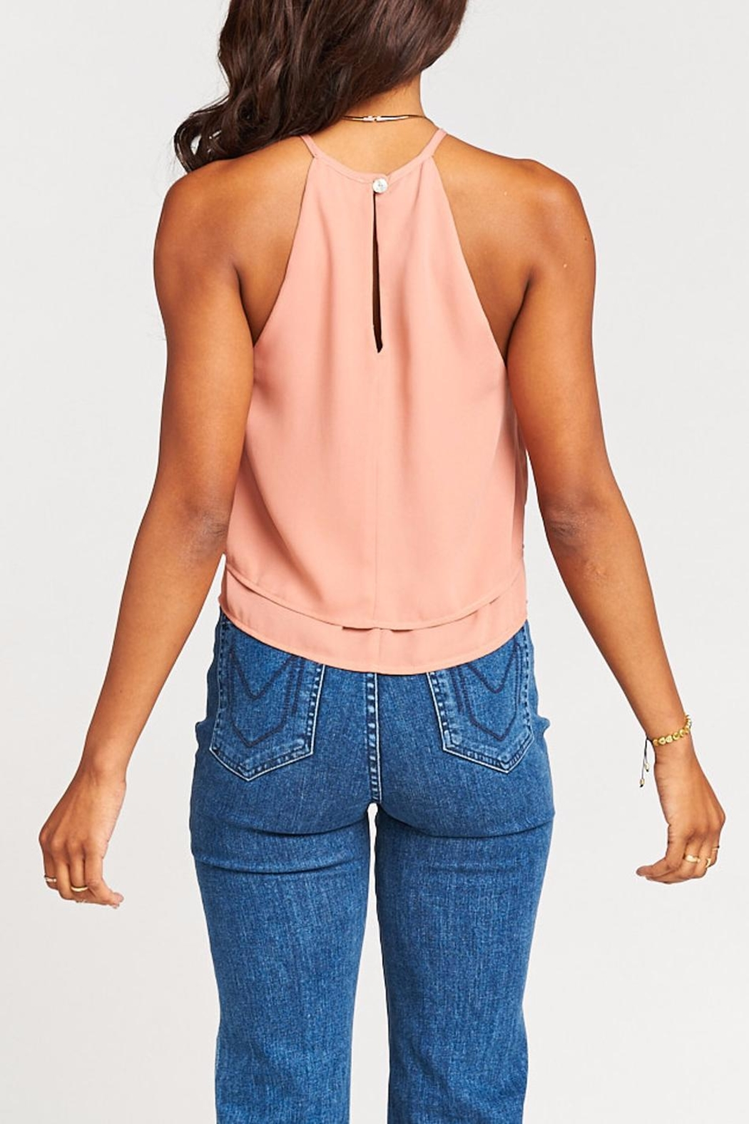 Show Me Your Mumu Evie Crop Top - Back Cropped Image