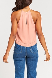 Show Me Your Mumu Evie Crop Top - Back cropped