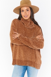 Show Me Your Mumu Fatima Turtleneck Sweater - Front cropped