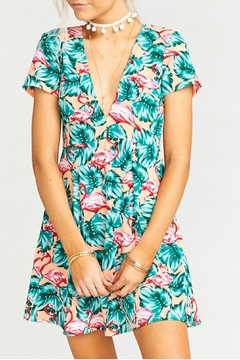 Shoptiques Product: Flamingo Ibiza Dress