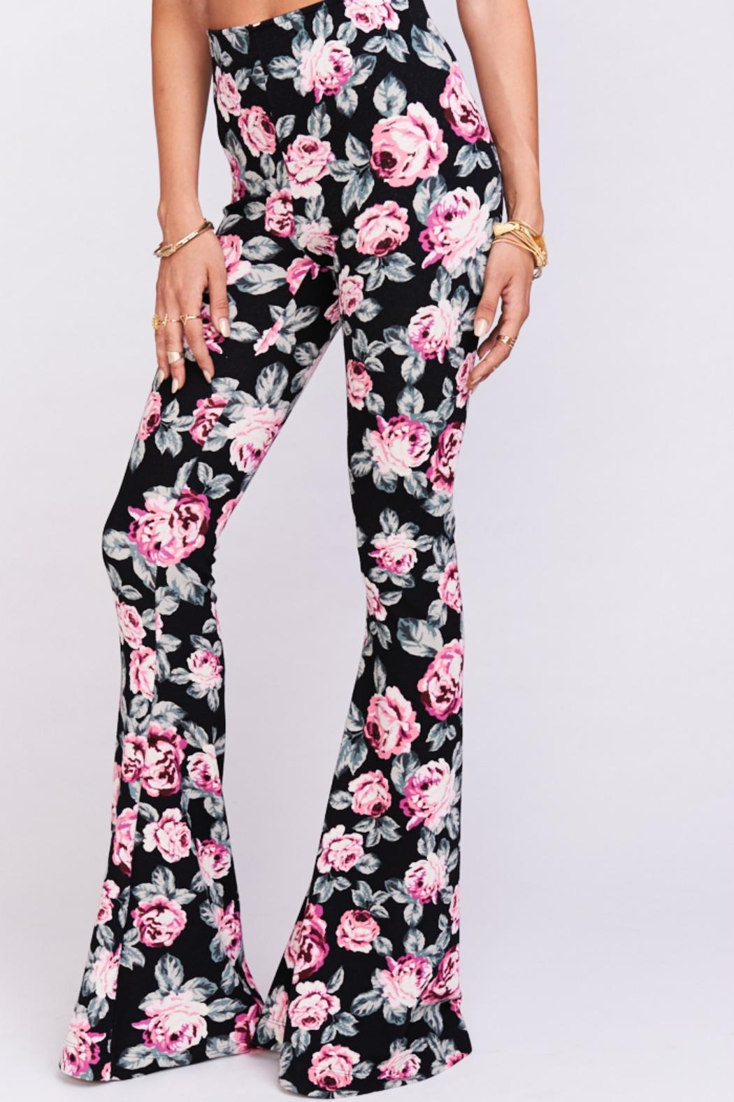 Show Me Your Mumu Floral Flare Pants From Dallas By Hulla Blu