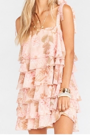 Show Me Your Mumu Floral Pink Dress - Product Mini Image