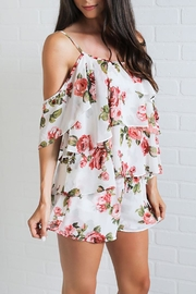 Show Me Your Mumu Floral Ruffle Top - Product Mini Image