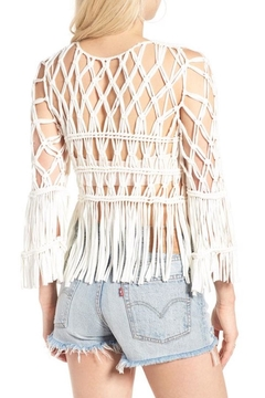 Show Me Your Mumu Fringe Top Crochet - Alternate List Image
