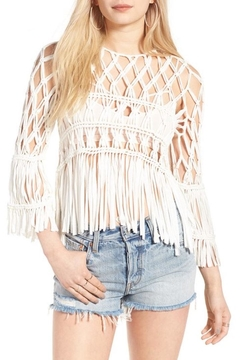 Show Me Your Mumu Fringe Top Crochet - Product List Image