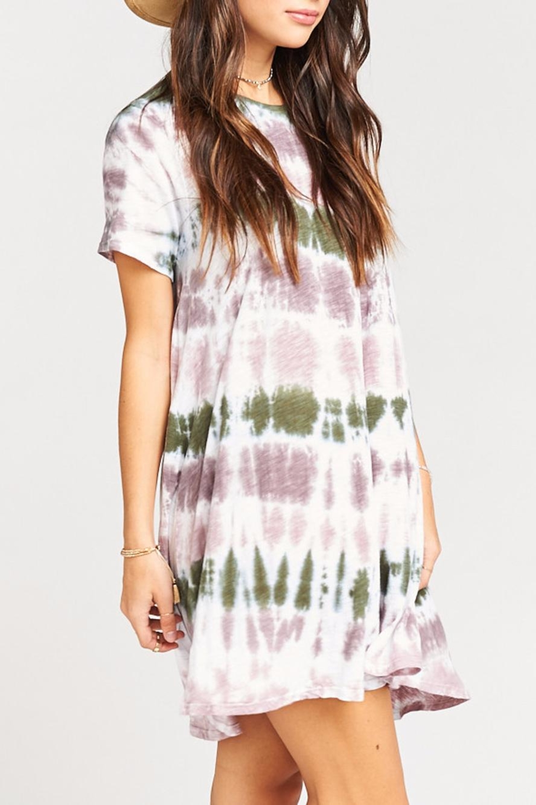 Show Me Your Mumu Gant Flow Tunic  Dress - Side Cropped Image