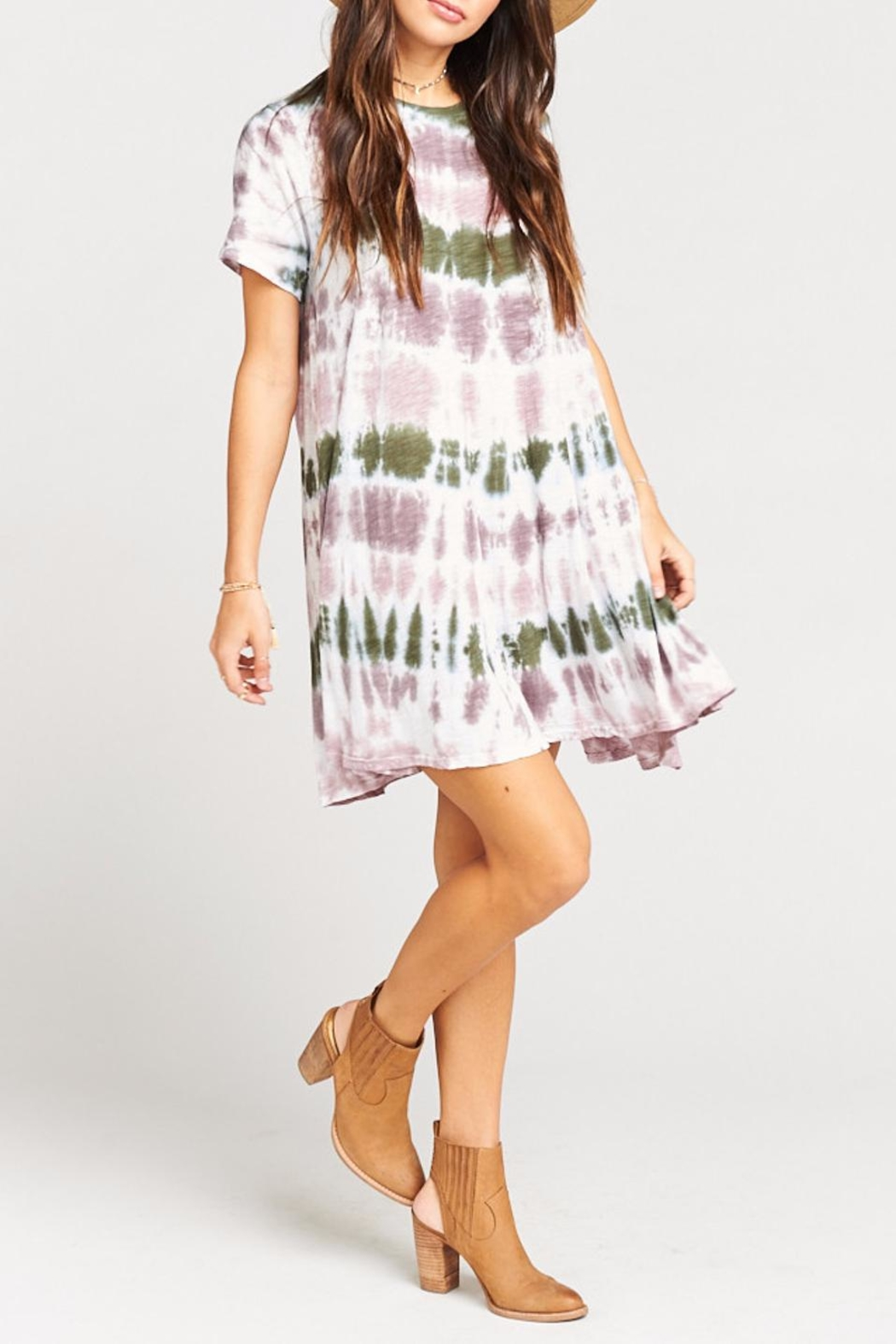 Show Me Your Mumu Gant Flow Tunic  Dress - Front Full Image