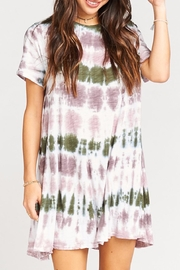 Show Me Your Mumu Gant Flow Tunic  Dress - Front cropped