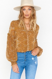 Show Me Your Mumu Georgie Top - Front cropped