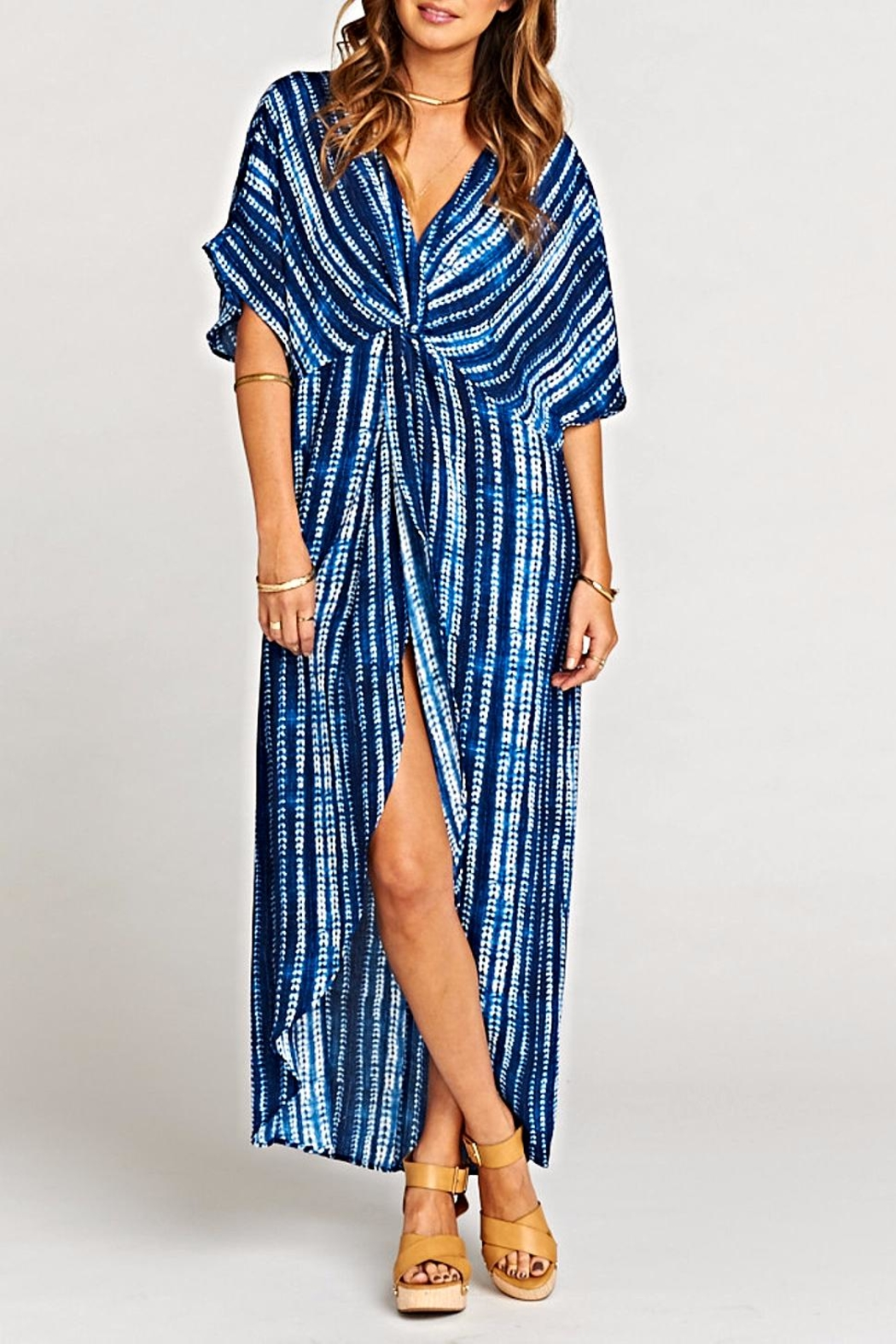 Show Me Your Mumu Get Twisted Maxi-Dress - Main Image