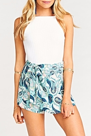 Show Me Your Mumu Great Wrap Short - Front full body