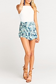Show Me Your Mumu Great Wrap Short - Front cropped