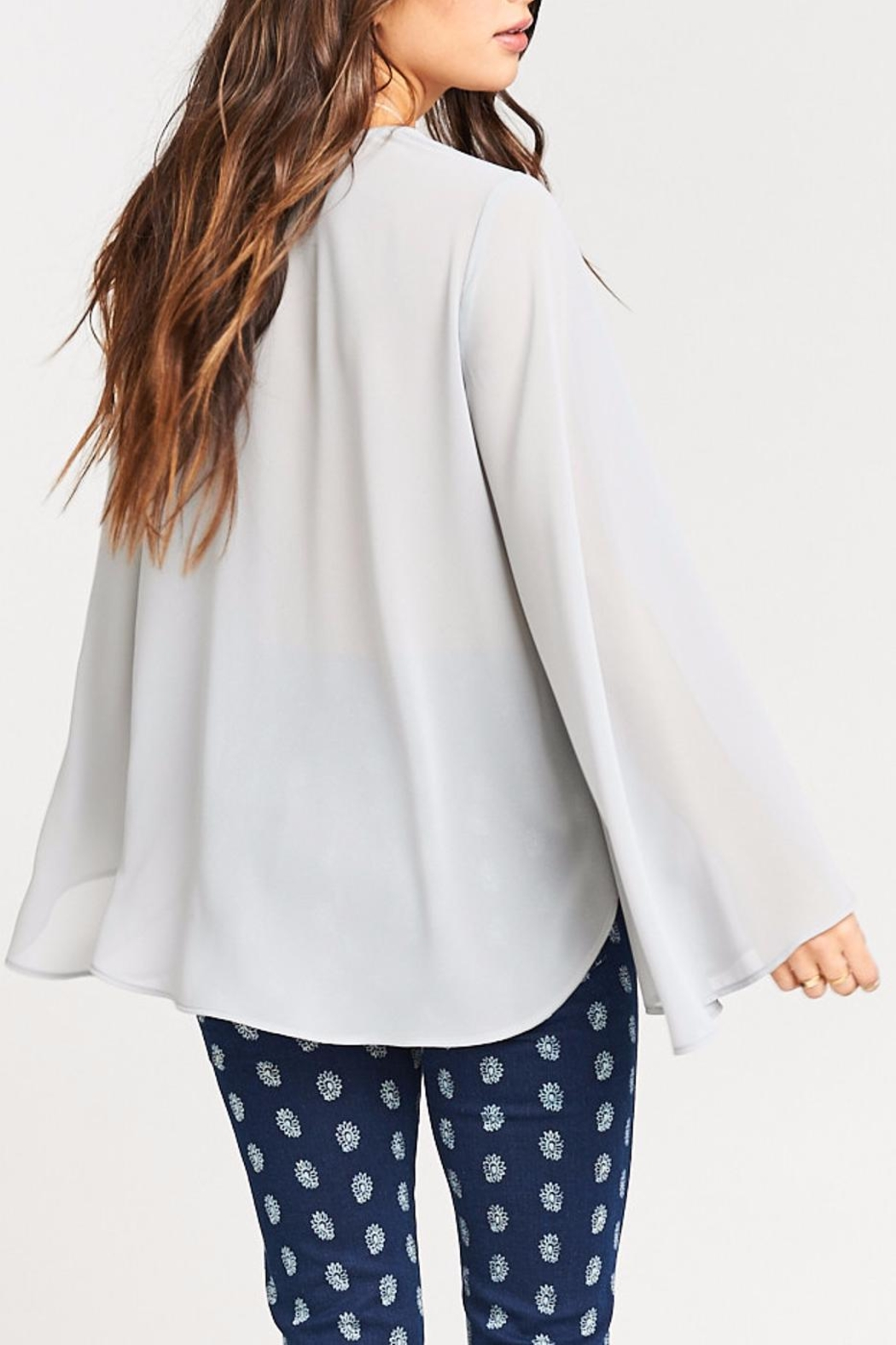 Show Me Your Mumu Hippie Dippie Top - Back Cropped Image