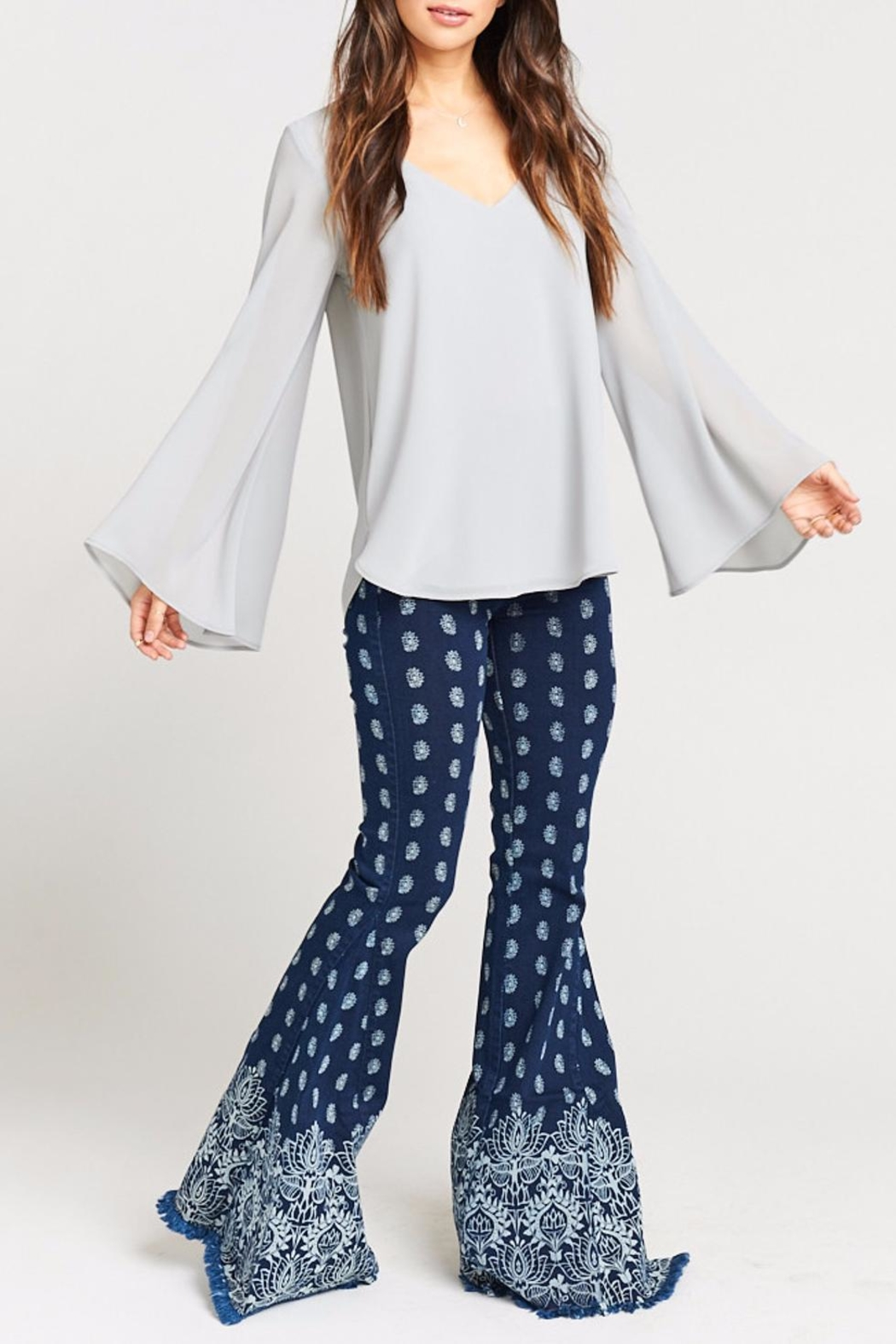 Show Me Your Mumu Hippie Dippie Top - Side Cropped Image