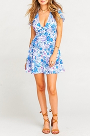 Show Me Your Mumu Ibiza Floral Dress - Front cropped