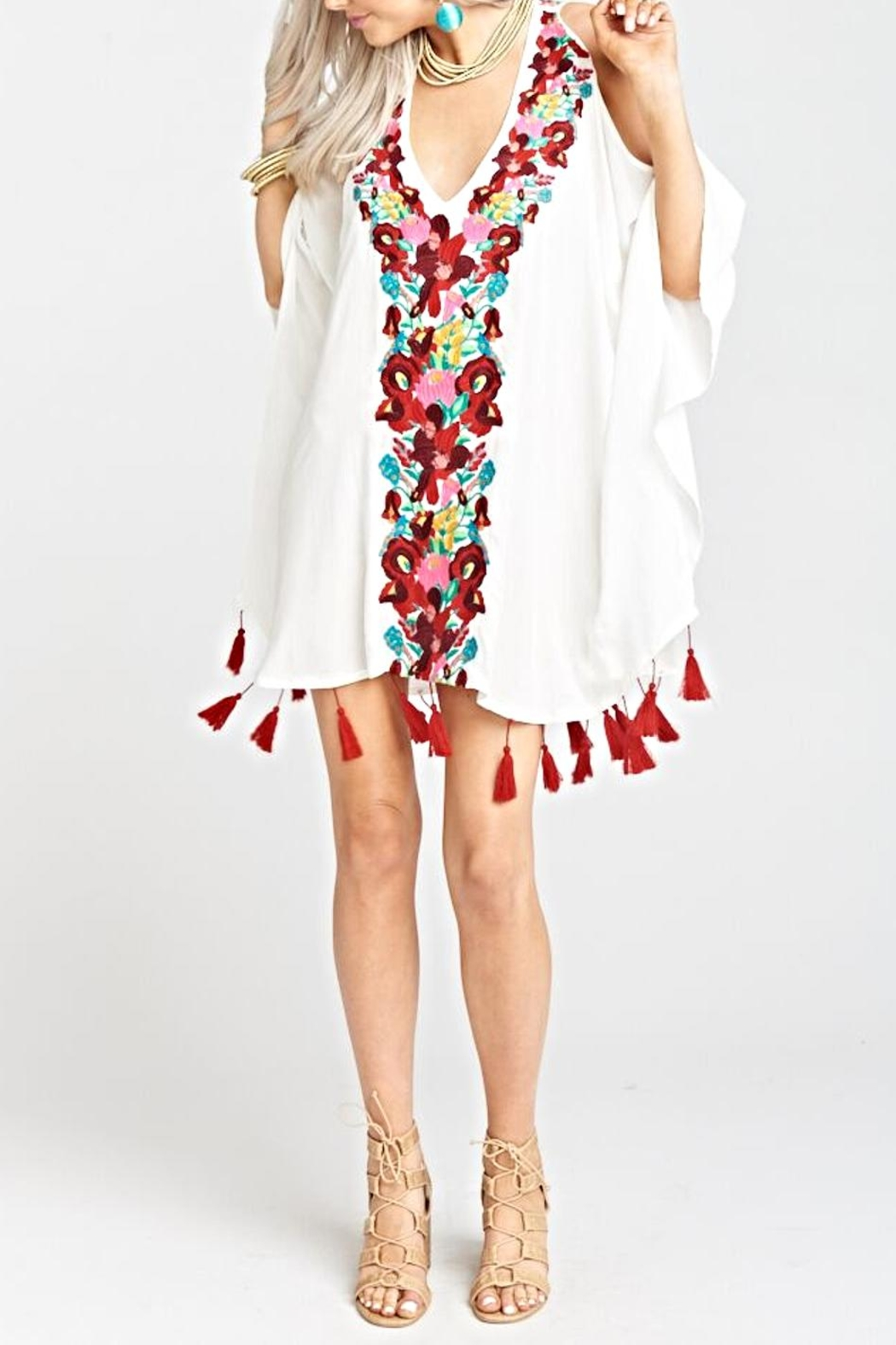 Show Me Your Mumu Jaden Tunic - Back Cropped Image