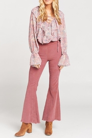 Show Me Your Mumu Kellie Pick Flare Pants - Front full body