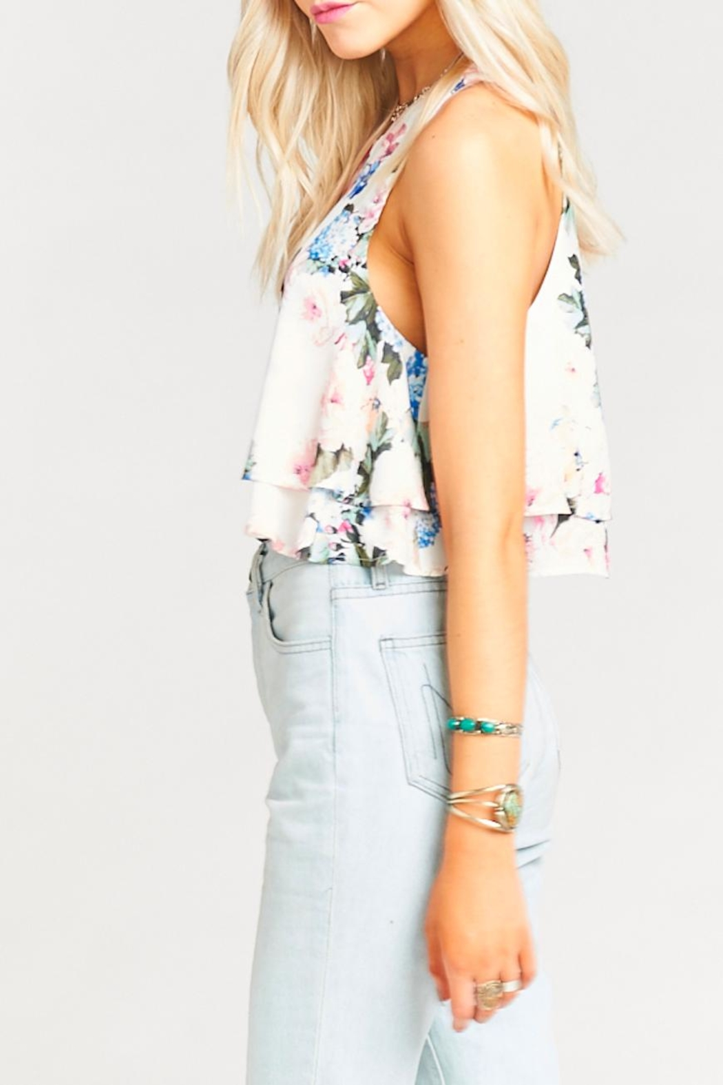 Show Me Your Mumu King Crop Top - Side Cropped Image