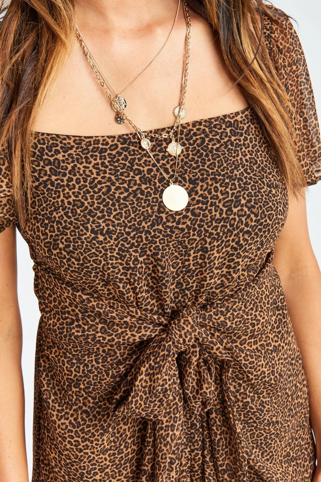 Show Me Your Mumu Kinsley Romper - Side Cropped Image