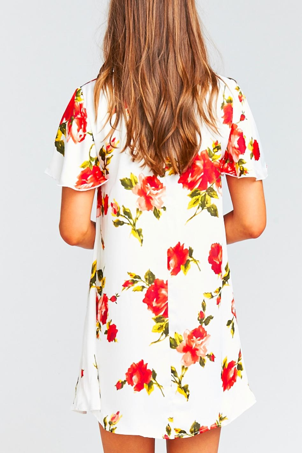 Show Me Your Mumu Kylie Floral Dress - Back Cropped Image