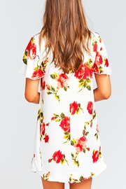 Show Me Your Mumu Kylie Floral Dress - Back cropped