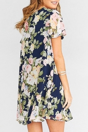 Show Me Your Mumu Kylie Lace-Up Dress - Front full body