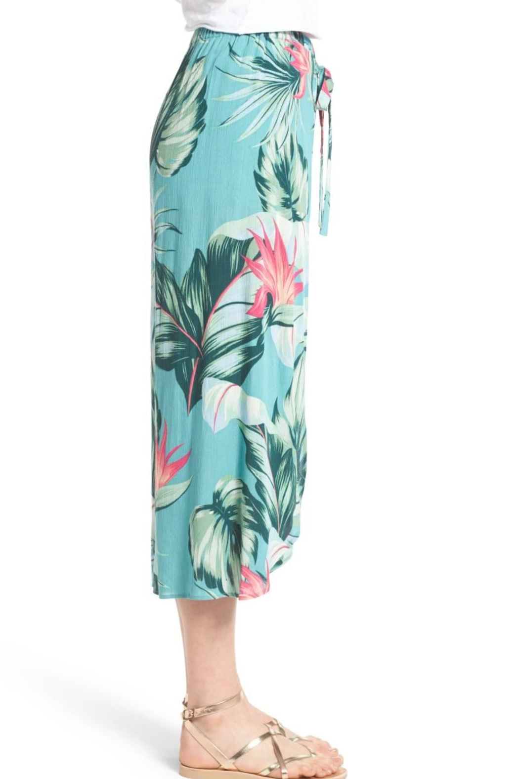 Show Me Your Mumu Limbo Tropical Pant - Side Cropped Image