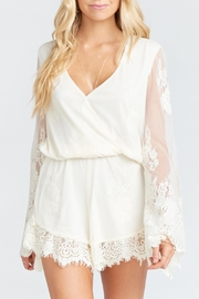 Show Me Your Mumu Loretta Lace Romper - Product Mini Image