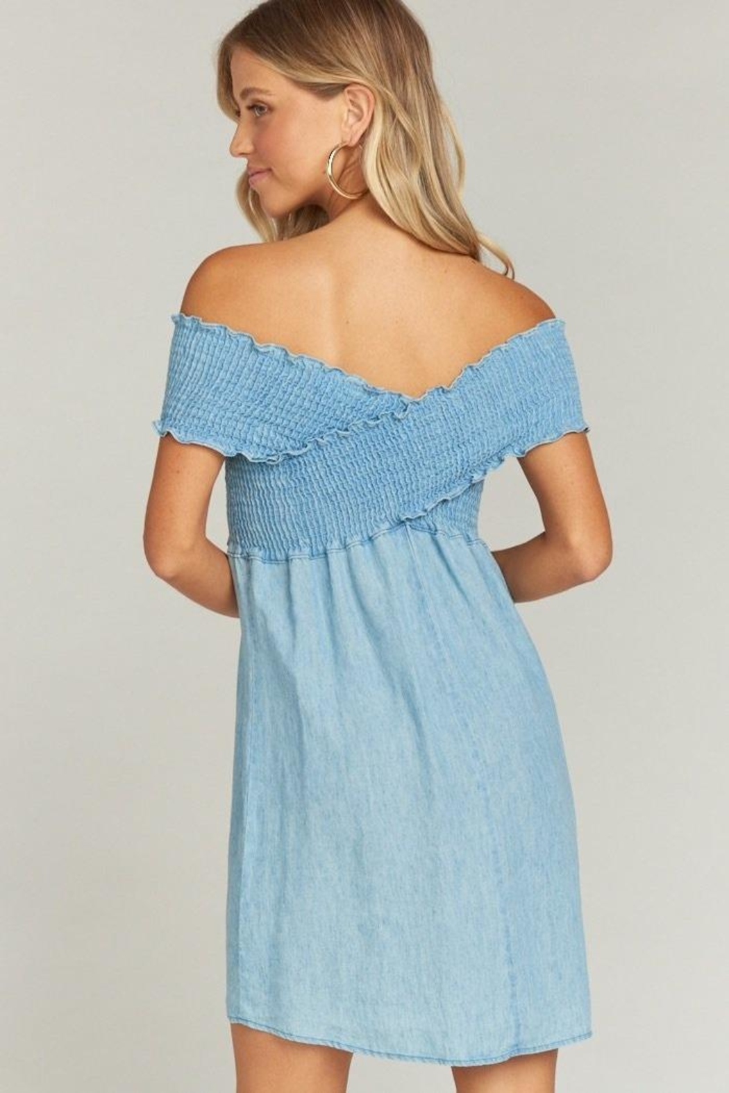 Show Me Your Mumu Mandy Smocked Dress - Front Full Image