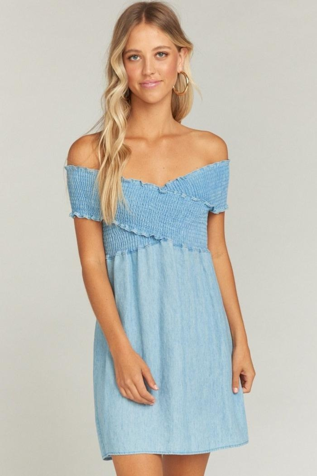 Show Me Your Mumu Mandy Smocked Dress - Main Image