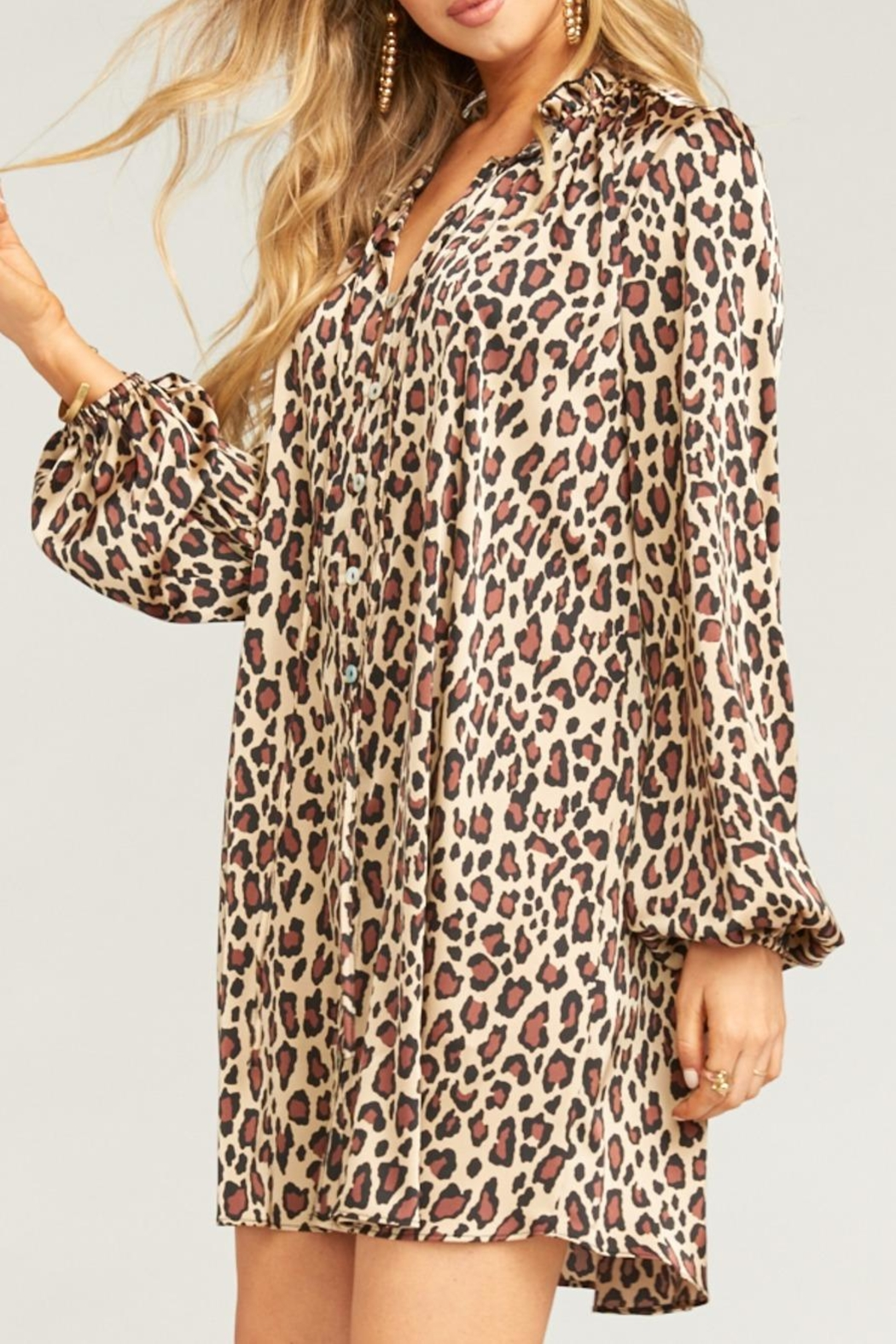 Show Me Your Mumu Mckenna Dress - Side Cropped Image
