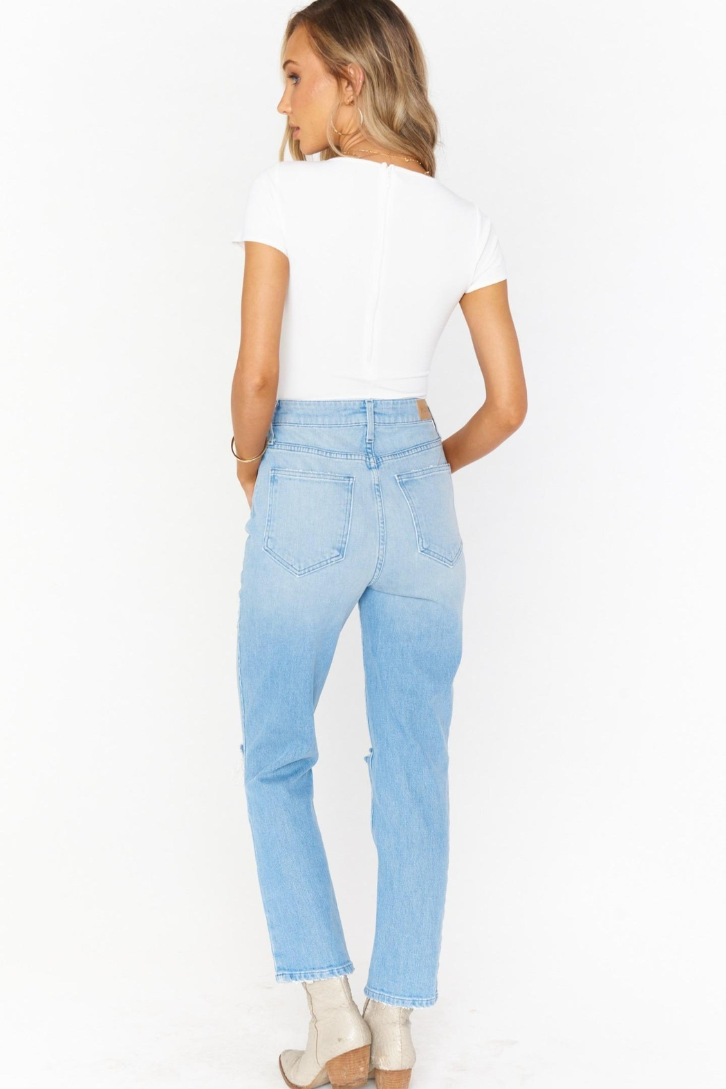 Show Me Your Mumu Midtown Straight Pant - Side Cropped Image