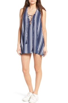 Show Me Your Mumu Navy Stripe Sporty Dress - Product List Image