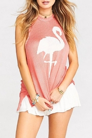 Show Me Your Mumu Flamingo Tank Top - Product Mini Image