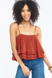 Show Me Your Mumu Myra Ruffle Tank - Product Mini Image