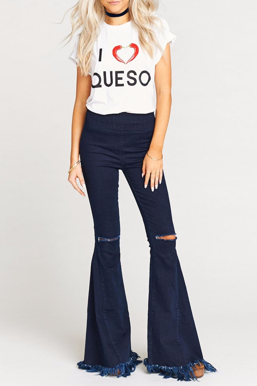 Show Me Your Mumu Oliver Queso Tee - Back Cropped Image