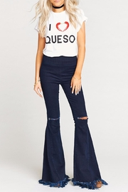 Show Me Your Mumu Oliver Queso Tee - Back cropped