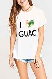 Show Me Your Mumu Oliver Guac Tee - Front full body
