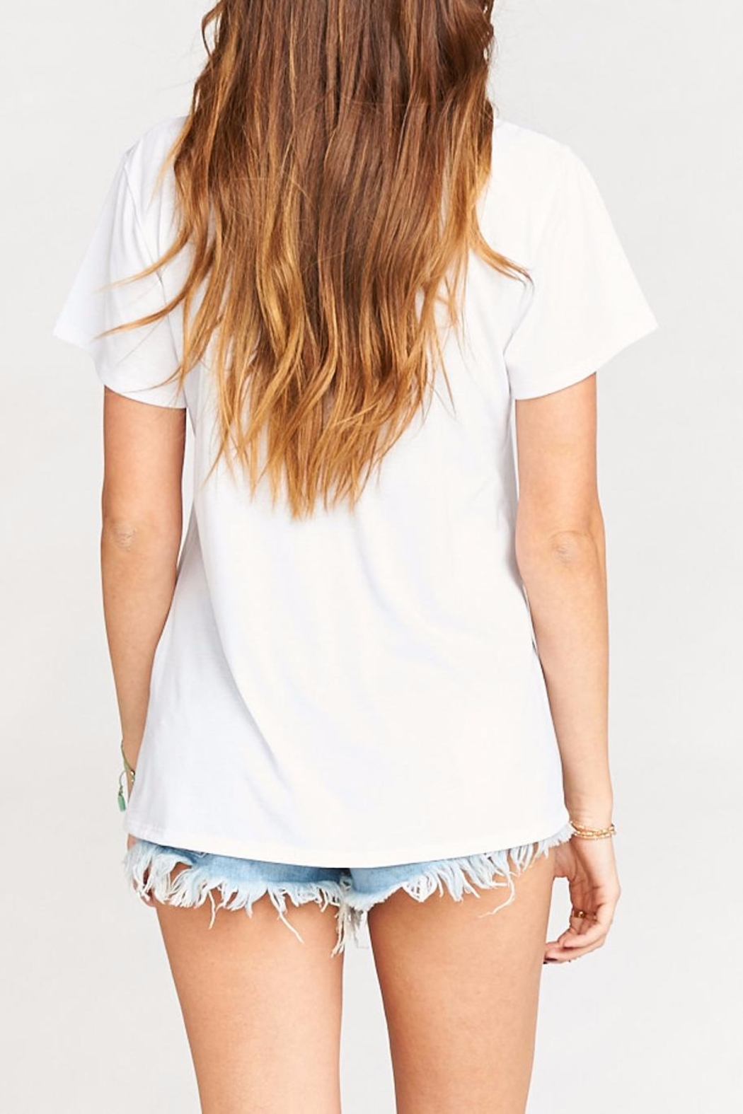 Show Me Your Mumu Oliver Guac Tee - Back Cropped Image
