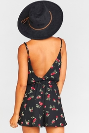 Show Me Your Mumu Olympia Crossover Romper - Back cropped