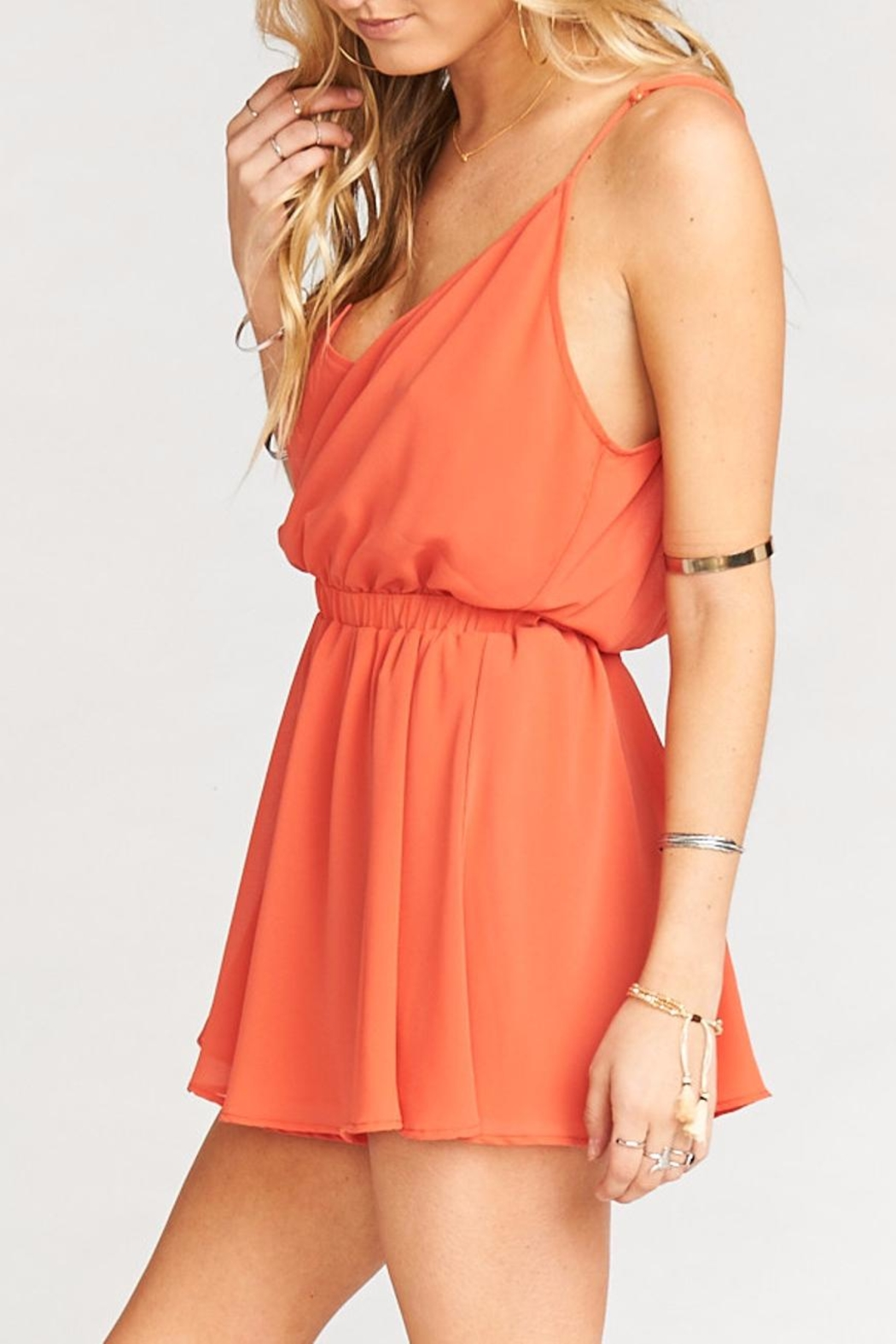 Show Me Your Mumu Olympia Romper - Side Cropped Image