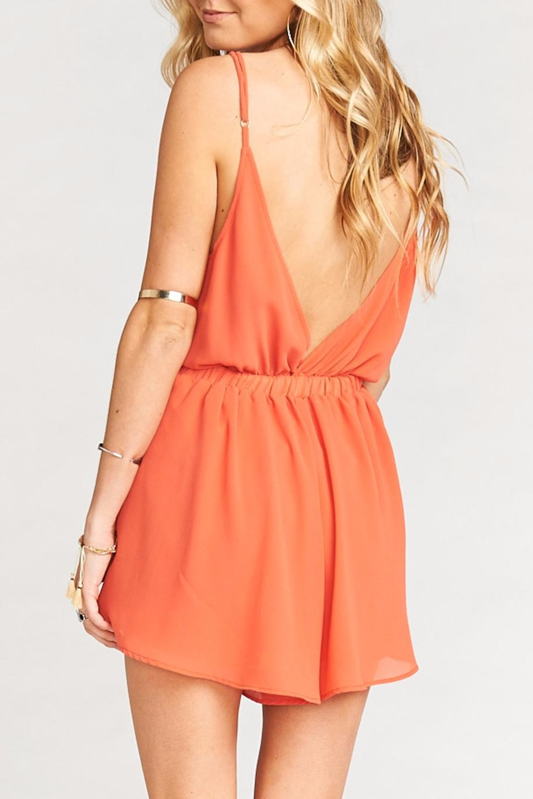 Show Me Your Mumu Olympia Romper - Back Cropped Image