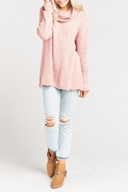 Show Me Your Mumu Overtop Sweater - Back cropped