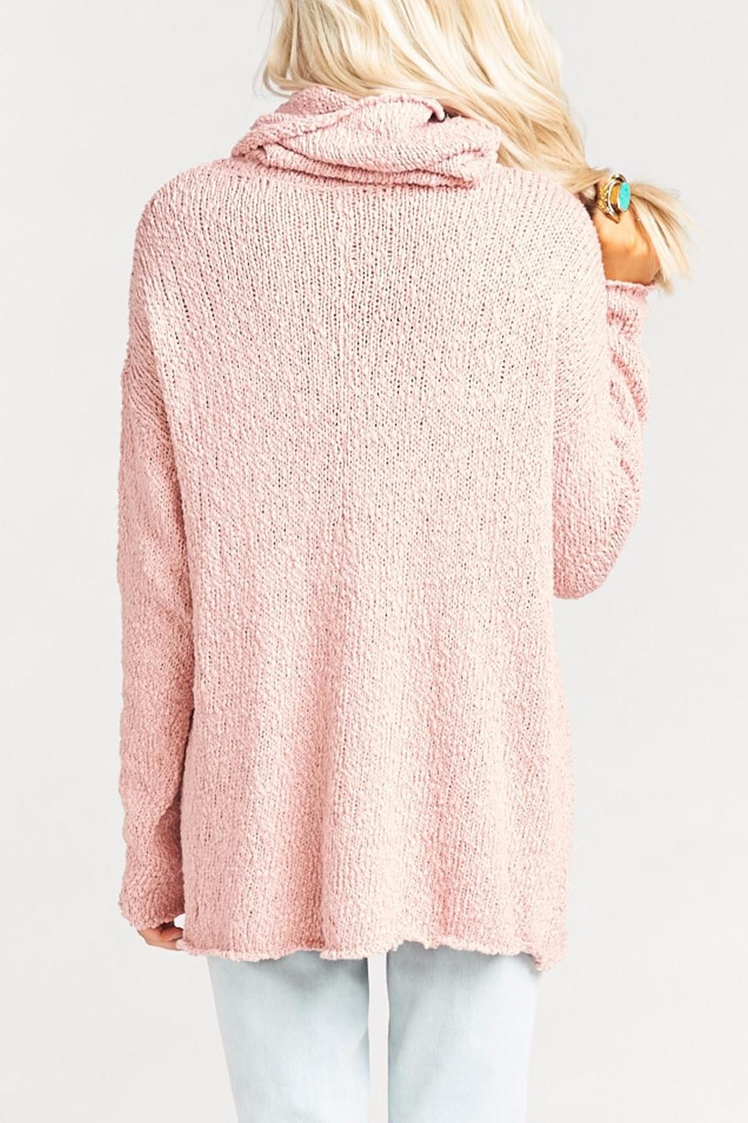 Show Me Your Mumu Overtop Sweater - Side Cropped Image