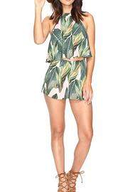 Shoptiques Product: Palm Print Shorts - Side cropped