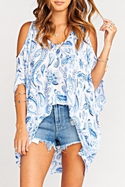 Show Me Your Mumu Peta-Boo Tunic - Product Mini Image