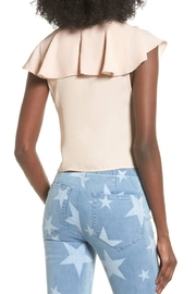 Show Me Your Mumu Pink Ruffle Top - Front full body