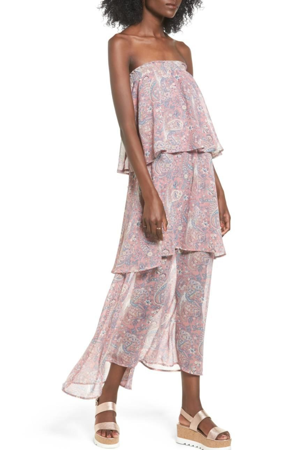 Show Me Your Mumu Pink Skirt Dress - Front Cropped Image